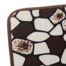 40x60 Cm Batu Antislip Lembut Memori Busa Mandi Pintu untuk Kamar Mandi untuk Lantai Tikar Karpet Batu Kopi