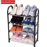 Harga 42X20X57Cm Portable Shoe Rack Stand Shelf Home Storage Organizer Closet Cabinet Black Intl Asli Oem