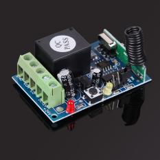 Toko 433 Mhz Dc12V 1 Channel Kode Belajar Wireless Remote Control Mode Relay Oem