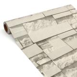 Harga 45 Cm 10 M 3D Wallpaper Pola Batu Bata Berperekat Dekorasi Kertas Dinding Tahan Air 3 Intl Oem Ori