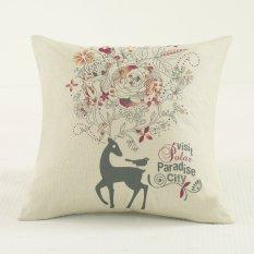 45 Cm Baru Custom Bantal untuk Peta Custom Logo Fabric Sofa Cushion Furniture Nap Bantal-Intl