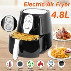 4.8L Air Fryer Penggorengan Dalam Lemak Sehat Tidak Ada Minyak Hitam Dapur Cooker 1400 W Legenda AU Plug-Intl