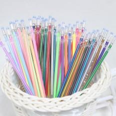 48 Pcs Pena Gel Gel Isi Ulang Rollerball Pastel Neon Glitter Pen Menggambar Warna-Intl