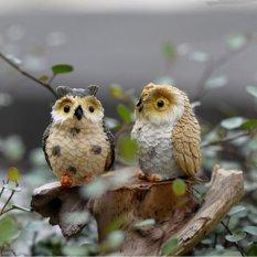 4 Buah Taman Burung Hantu Rumah Terarium Desktop Bonsai Kerajinan Dekorasi Rumah Boneka Miniatur Diseduh Sendiri Acak Promo Beli 1 Gratis 1