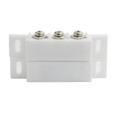 (5 Pasang) Wired Plastik Magnetic Switch Pintu Jendela OpendetectorNC/TIDAK Output Opsional Alarm Aksesoris Dada Lampu Sensor-Intl