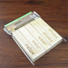 5 Pcs Kayu Kamper Alami Blok Aromatik Tidak Beracun Kecoa Serangga Repeller Hama Ngengat Moistureproof Bau Mothproof Deodorisasi Spesifikasi: 5 Pcs-Intl