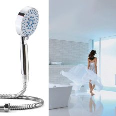 Toko 5 Setting Water Saving Multi Function Bathroom Hand Held Shower Head Chrome Termurah Di Tiongkok