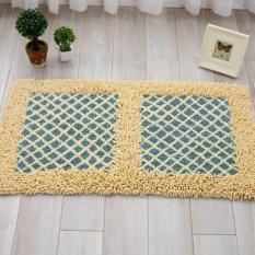 50*80 Cm Dekorasi Rumah Rectangle Floor Mat Sofa Mat Karpet Lorong Balkon Mats Pads Non-slip Cotton Dapur Rugs