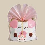 Diskon 50 Pcs Cute Animal Packing Bag Makanan Paket Kue Permen Biskuit Gift Bags Untuk Party Favors Persediaan Intl Tiongkok