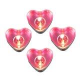 Harga 50 Buah Bentuk Hati Lilin Ulang Tahun Pesta Pernikahan Dekorasi Rumah Hadiah Cinta Berwarna Merah Muda Paling Murah
