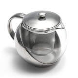 Jual Beli 500 600 750 800 Ml Teko Kaca Stainless Steel Infuser Daun Teh Herbal And Saringan