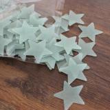 Jual 500 Pcs Glow Warna Stars Stiker Dinding Neon Bercaya Untuk Anak Anak Warna Biru Intl Termurah