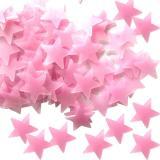 Promo 500 Pcs Glow Warna Stars Stiker Dinding Neon Bercaya Untuk Anak Anak Warna Merah Intl Di Tiongkok