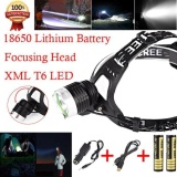 Jual 5000 Lm Chip Cree Xm L Xml T6 Led Headlamp Headlight Senter Head Light Lamp Intl Import