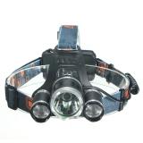 Beli 5000 Lumen Cree Xm L Xml 3 X T6 Led Lampu Depan Sepeda Lampu Senter Oem Online