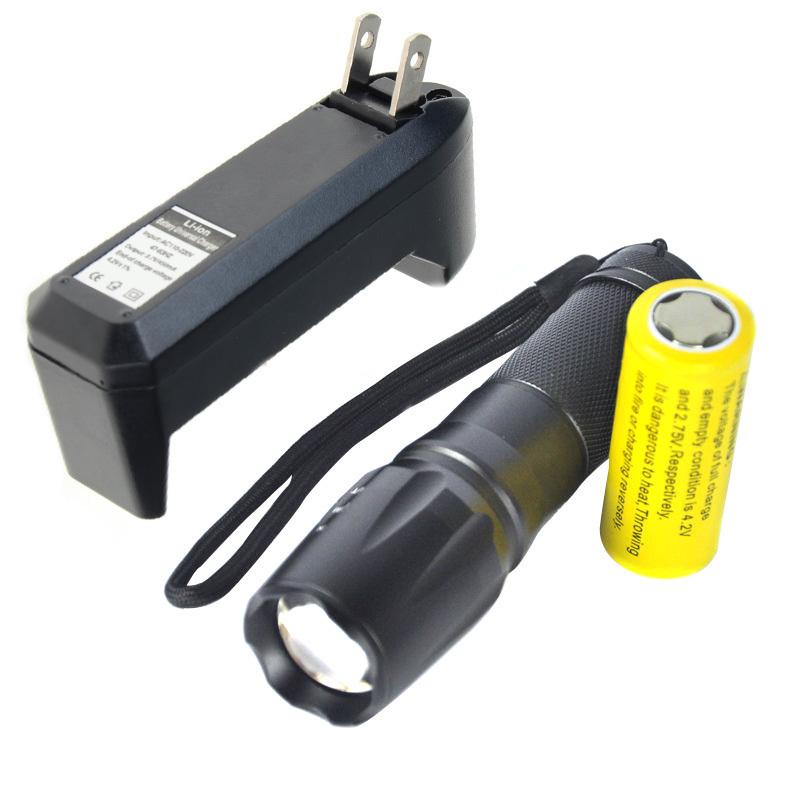 Harga 5000 Lumen Zoomable Facus Xm L T6 Led Obor Cahaya Senter 26650 We Charger Yang Murah Dan Bagus
