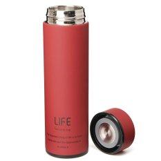 Jual 500 Ml Teh Kopi Botol Air Stainless Steel Vakum Piala Perjalanan Botol Termos Merah Oem Branded