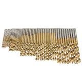 Beli 50 Buah Hss Spiralbohrer Bohrer Ditetapkan Stahlbohrer Metallbohrer Titan 1 1 5 2 2 5 3Mm Nyicil