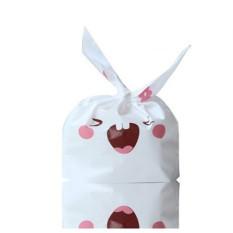 Harga 50 Buah Banyak Kue Biskuit Kemasan Tas Plastik Permen Pernikahan Tas Hadiah Dekorasi Pesta Gigi Besar Rabit Lengkap