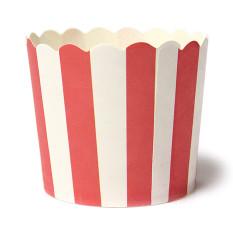 Harga 50 Pcs Kertas Kue Cangkir Cupcake Case Liners Muffin Dessert Baking Merah And Putih Panjang Lengan Bergaris Oem Original
