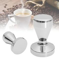Toko 51Mm Stainless Steel Silver Coffee Tamper Flat Base Tekan Untuk Espresso Baristar Intl Murah Di Tiongkok