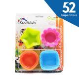 Promo 52 Home Cetakan Silikon Es Batu Coklat Kue Jelly 1704 509 Sc45 12 Isi 12 Pcs Random Colour Murah