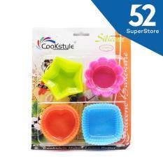 Jual 52 Home Cetakan Silikon Es Batu Coklat Kue Jelly 1704 509 Sc45 12 Isi 12 Pcs Random Colour Online