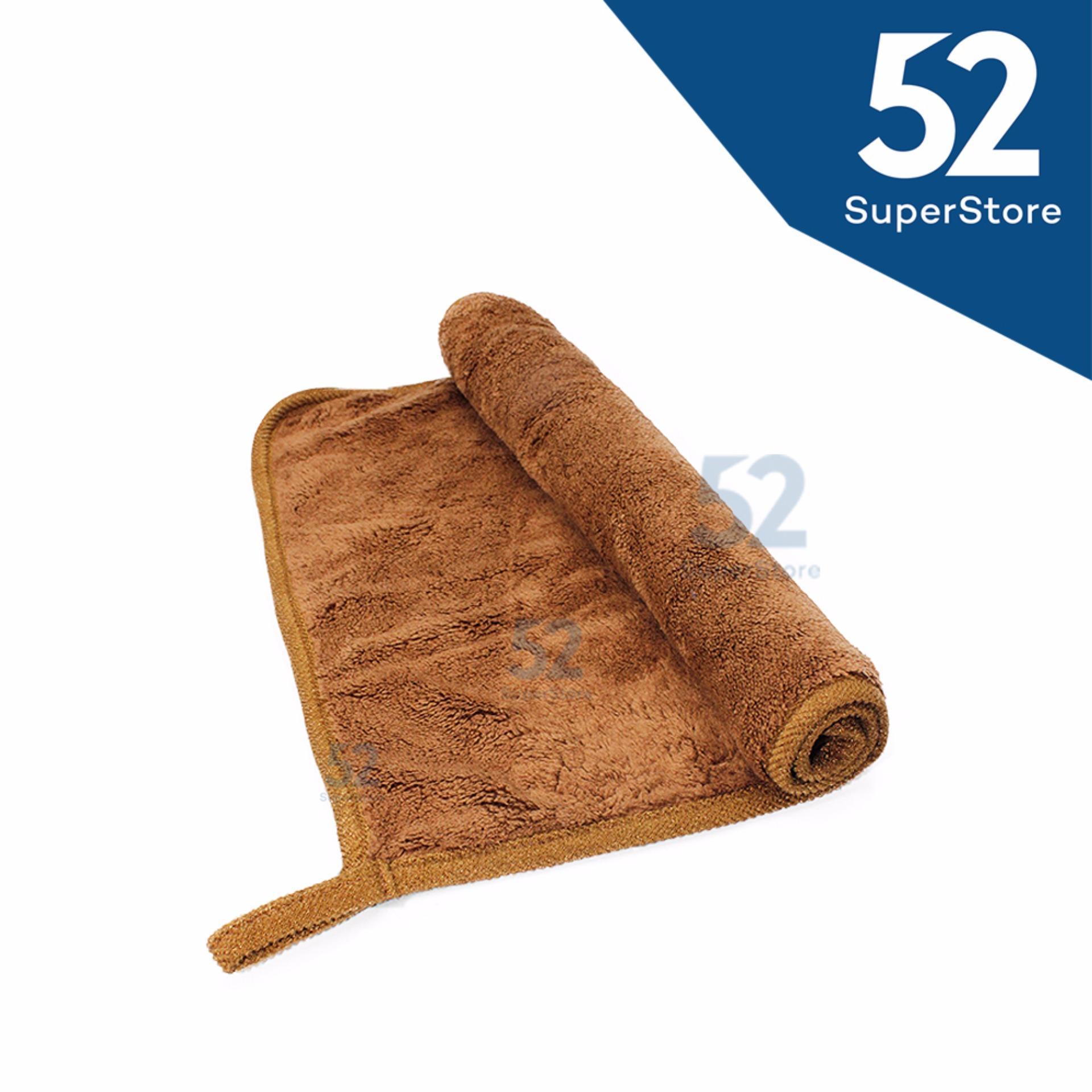 Harga preferensial 52 Home Kain Lap / Serbet 1609-422 - Brown Ukuran 38x30 cm