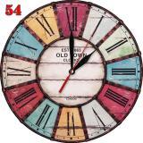 Jual 54 Vintage Jam Dinding Unik Motif Retro Klasik Murah