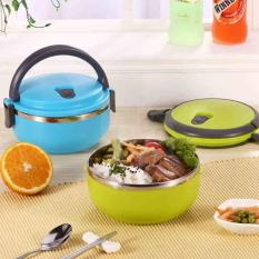 Rp 28.750 555 Lunch box rantang stainless steel 1 susun .