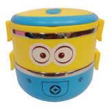 555 Sa Lunch Box Rantang Susun 2 Minion Tempat Makan Stainless Steel Lunch Box Stainless Steel 2Susun Lunch Box Karakter Jawa Timur Diskon 50