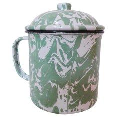 555 SA Mug Jumbo Vintage Army - Hijau / mug blirik / mug jadul jumbo