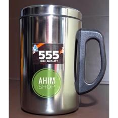 Jual 555 Thermos Mug Stainless Steel Ware High Quality 350Ml Gelas Termos Cangkir Minum Air Panas Dingin Multifungsi Online