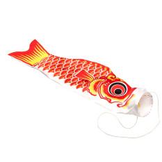55 Cm Ikan Gurame Jepang Windsock Bendera Koi Ikan Layaran Pita Angin Warna BARU Merah-Internasional