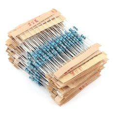 Diskon 560 Pcs 56 Jenis Logam Film Resistor Elektronik Aneka Ketahanan Komponen Intl Tiongkok