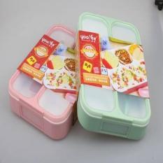 LOA - Lunch Box Kotak Makan Yooyee Bento Kotak Bekal Anti Bocor