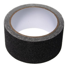 Review 5Cm X 3M Floor Safety Non Skid Tape Roll Anti Slip Adhesive Stickers High Grip Black Intl