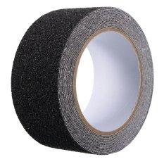 Harga 5 Cm X 5 M Lantai Cocok Untuk Bebas Selip Pita Gulungan Anti Slip Perekat Stiker Tinggi Pegangan Hitam Intl Origin