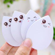 5 Pcs Cute Face Water-drop Memo Post IT Pad untuk Melakukan Daftar Sticky Notes MI Yan-Intl