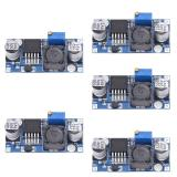 Spek 5 Pcs Dc Dc 3A Buck Converter Adjustable Step Down Power Supply Modul Lm2596S Intl