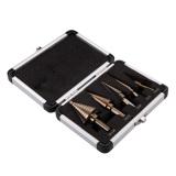 Harga 5 Buah Hss Kobalt Beberapa Lubang 50 Langkah Ukuran Mata Bor Set With Case Aluminium Seken