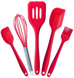 Toko 5 Pcs Peralatan Dapur Tahan Panas Cookware Silicone Baking Online Di Tiongkok