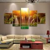 Harga 5 Pcs Lot Abstrak Lukisan Dinding Kanvas Seni Lukisan Cat Minyak Untuk Dekorasi Rumah Internasional Termurah