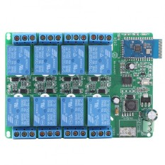 5 V 8 Channel Bluetooth Relay Board Remote Control Switch Untuk Ponsel Android Intl Terbaru