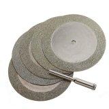 Spesifikasi 5X50Mm Diamond Piringan Pemotong And Mata Bor For Putaran Alat Dremel Pisau Batu Dan Harga