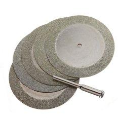 Model 5X50Mm Diamond Piringan Pemotong And Mata Bor For Putaran Alat Dremel Pisau Batu Terbaru