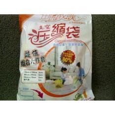Review 6 Pcs Vacuum Storage Bag Vakum Bag Free Pompa Di Jawa Timur