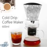 Harga 600 Ml Bahasa Belanda Coffee Cold Brew Drip Air Es Pembuat Kopi Melayani Kaca Untuk 8 Cangkir Intl Asli Not Specified