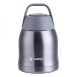 Toko 600 Ml Stainless Steel Terisolasi Wadah Makanan Vacuum Lunch Box Thermos Makanan Jar Grey Intl Lengkap
