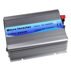 600W Grid Tie Inverter DC22V-60V For 24V/30V/36V Solar Panel,MPPT Stackable Pure Sine Wave AC190-260V Output,50Hz/60Hz Auto - intl